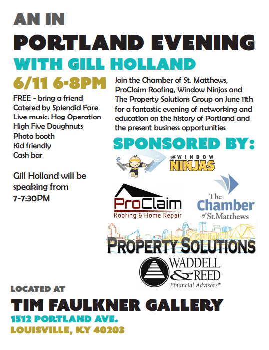 Gill Holland Lousiville networking event